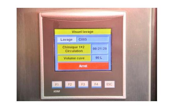 Contrôle du lavage automatique