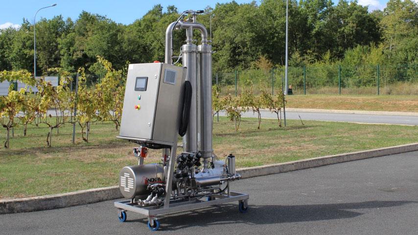 Machine de filtration tangentielle