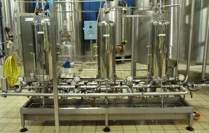 palette de filtration en laiterie